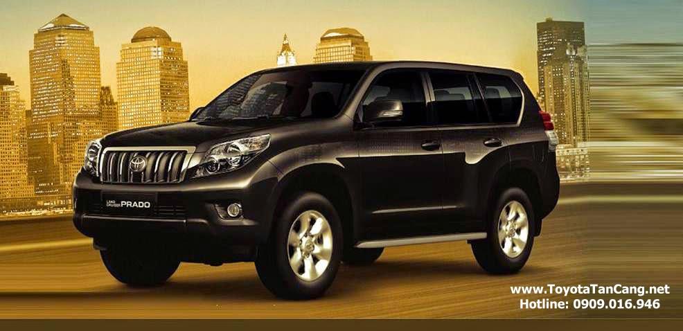 toyota land cruiser prado 2015 toyota tan cang 2 - Toyota Land Cruiser Prado 2015 giá bao nhiêu? Xe nhập khẩu từ Nhật Bản - Muaxegiatot.vn