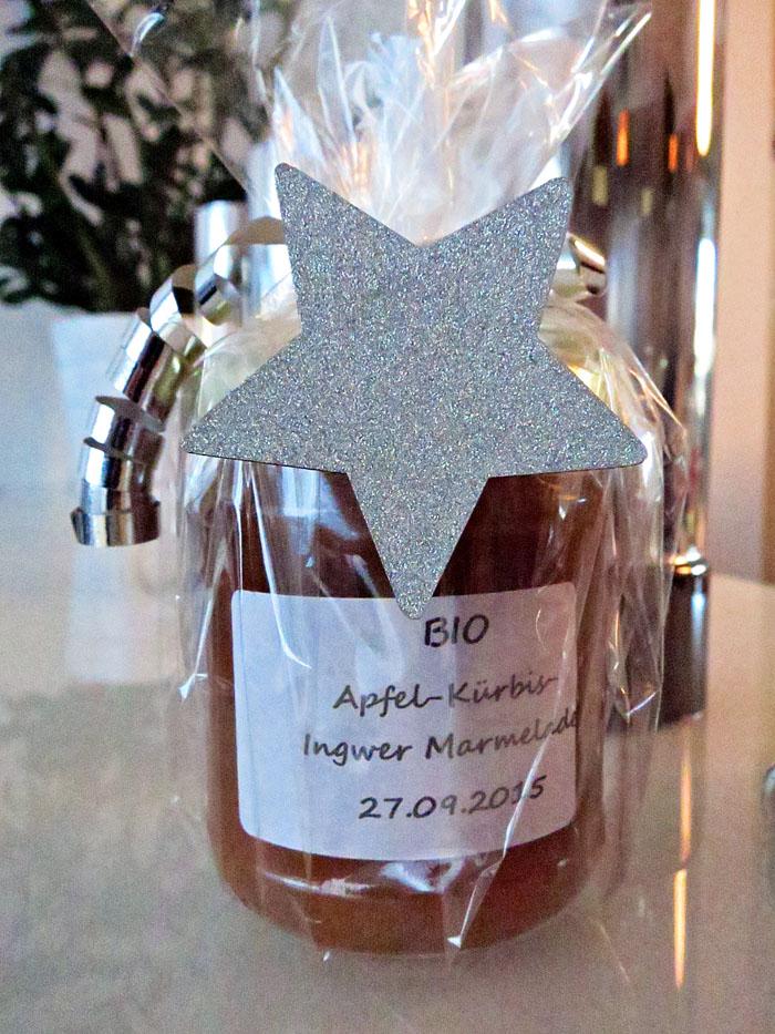 Apfel-Kürbis-Ingwer Marmelade