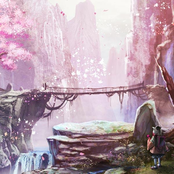 Fantasy Nature Spring Wallpaper Engine