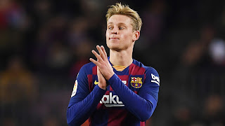 De Jong reveals who helped him the most at Barcelona when he first arrive