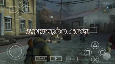 Game SOCOM US Navy SEALs Fireteam Bravo 3 PPSSPP ISO High Compress Free Download Full Version
