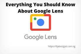 Everything You Should Know About Google Lens