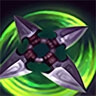 Assassin's Shuriken (third skill)