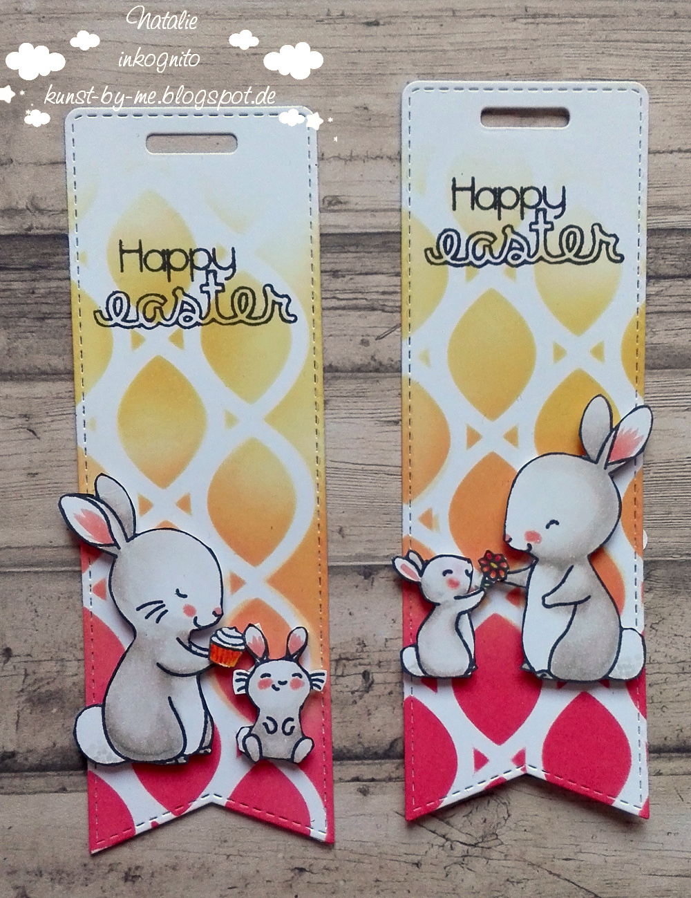 Inkognito Cards By Natalie Hoppy Easter