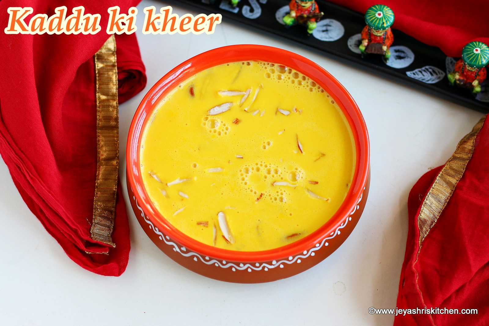 kaddu ki kheer recipe pumpkin payasam - Jeyashris Kitchen