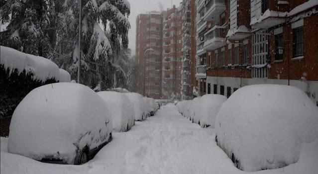 Calles de Madrid. Filomena