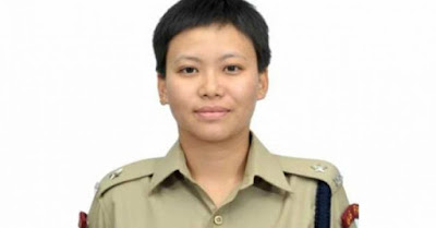 Aparajita Rai first female Gorkha IPS from Sikkim