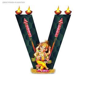 Diwali-V-Alphabet-Images