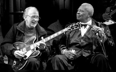 bb king and les paul