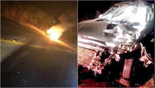 Vídeo: Acidente envolvendo veículo e motocicleta faz vítima fatal próxima a Condado