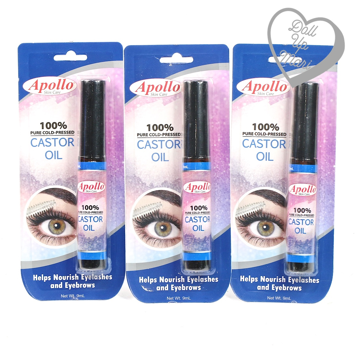 Apollo Castor Oil Now In Mascara Tubes!!!