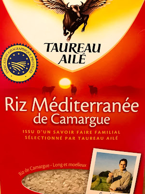 French Village Lockdown Diaries day forty-one France Trivia Advent calendar day nine camargue rice