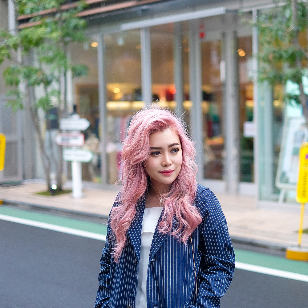 How I Get My Pastel Pink Hair Stella Lee Indonesia Beauty And