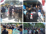 Aliansi Pemuda Perdagangan Menggugat,Tuntut Camat Bandar Tutup Tangkahan Pasir Ilegal