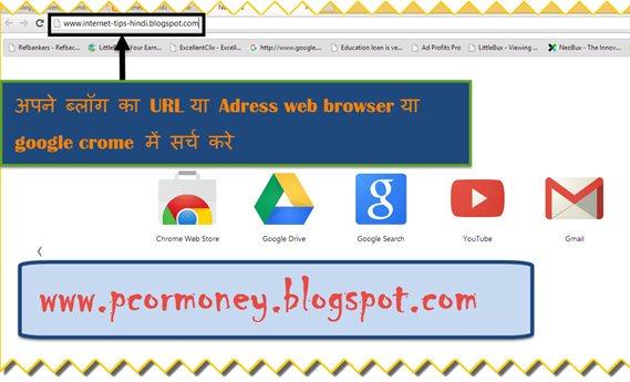 google search me apne blog ko kaise laye in hindi, blogger par blog kaise bana sakte hain puri jankari hindi me