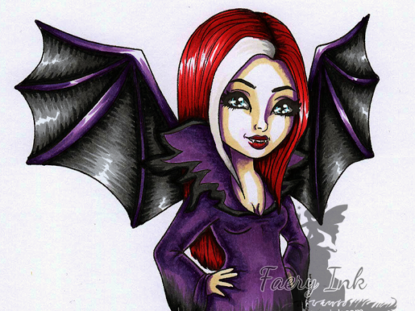 One Day Fae Digi Giveaway - Lahla Vampire Fae