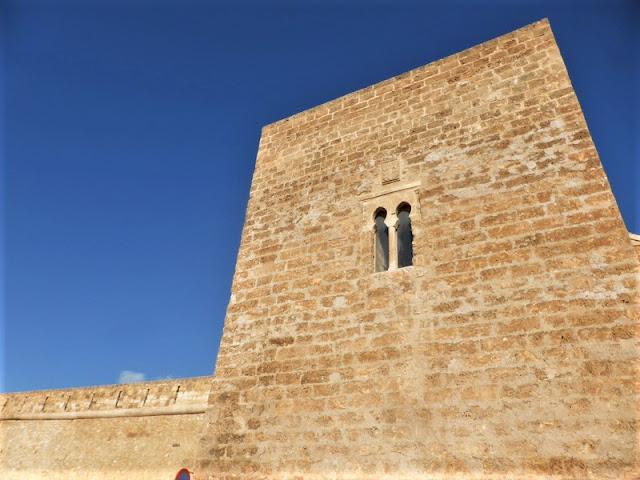 Ventana de la Torre del Castillo de Caravaca de la Cruz