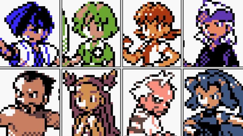 Pokémon Gold e Silver Líderes de Ginásio