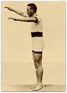 Alfréd Hajós, Campeão dos 100 metros de Natação em 1896 (Museu de Ciência e Tecnologia da PUCRS)