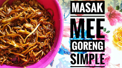 masak mee goreng simple