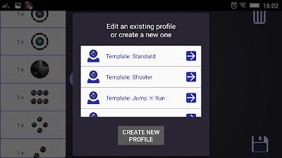 Fitur DroidJoy Gamepad Joystick Android