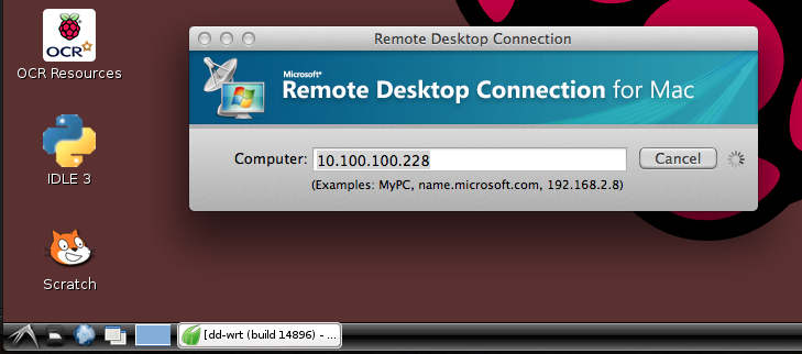 Phil's technical blog : Windows remote desktop for Raspberry Pi