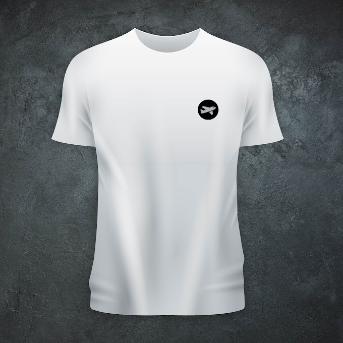 Aircraft Nerds Unisex T-shirt (Round Logo/Embroidered)