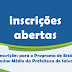 [PREFEITURA] Inscrições para o programa de estágio na prefeitura começam hoje.