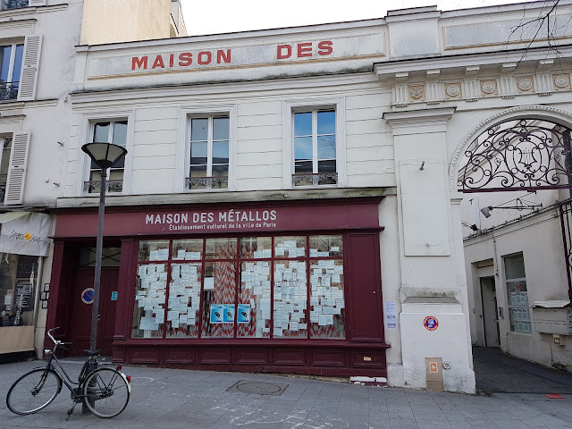 """Maison des Metallos"", rue Jean-Pierre Timbaud"
