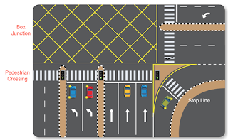 Regulatory Road Markings