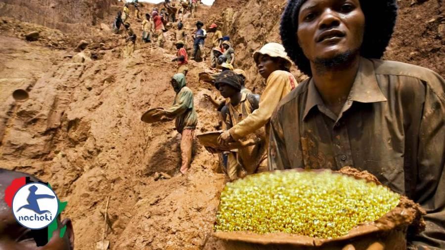 Inilah Video Orang-orang Berebut Gunung Emas di Kongo, Tanda Akhir Zaman?