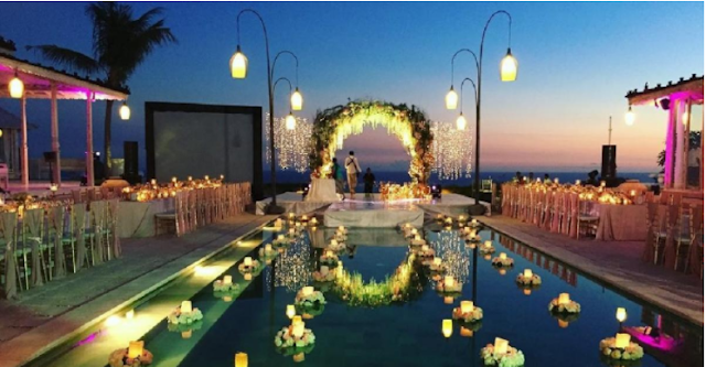 Best moment villa bali for wedding party