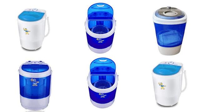Daftar Harga Mesin Cuci Mini Portable