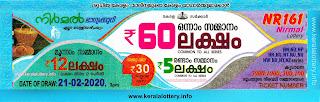 "KeralaLottery.info, ""kerala lottery result 21 2 2020 nirmal nr 161"", nirmal today result : 21/2/2020 nirmal lottery nr-161, kerala lottery result 21-02-2020, nirmal lottery results, kerala lottery result today nirmal, nirmal lottery result, kerala lottery result nirmal today, kerala lottery nirmal today result, nirmal kerala lottery result, nirmal lottery nr.161 results 21-2-2020, nirmal lottery nr 161, live nirmal lottery nr-161, nirmal lottery, kerala lottery today result nirmal, nirmal lottery (nr-161) 21/2/2020, today nirmal lottery result, nirmal lottery today result, nirmal lottery results today, today kerala lottery result nirmal, kerala lottery results today nirmal 21 2 20, nirmal lottery today, today lottery result nirmal 21-2-20, nirmal lottery result today 21.2.2020, nirmal lottery today, today lottery result nirmal 21-2-20, nirmal lottery result today 21.02.2020, kerala lottery result live, kerala lottery bumper result, kerala lottery result yesterday, kerala lottery result today, kerala online lottery results, kerala lottery draw, kerala lottery results, kerala state lottery today, kerala lottare, kerala lottery result, lottery today, kerala lottery today draw result, kerala lottery online purchase, kerala lottery, kl result,  yesterday lottery results, lotteries results, keralalotteries, kerala lottery, keralalotteryresult, kerala lottery result, kerala lottery result live, kerala lottery today, kerala lottery result today, kerala lottery results today, today kerala lottery result, kerala lottery ticket pictures, kerala samsthana bhagyakuri"