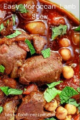 Easy Moroccan Lamb Stew