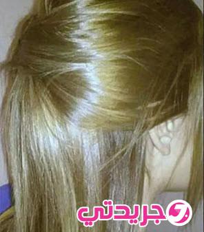 صبغة طبيعية خطيرة لتلوين الشعر باللون الاشقر