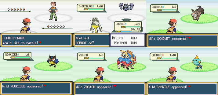 Pokemon Red Sword GBA ROM Hack Download