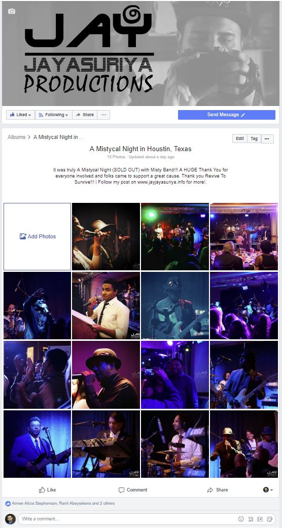 A Mistycal Night in Houston Texas Facebook Photo Album by @JayJayasuriya Productions