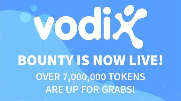 Vodix Bounty - Over 7M TOKENS
