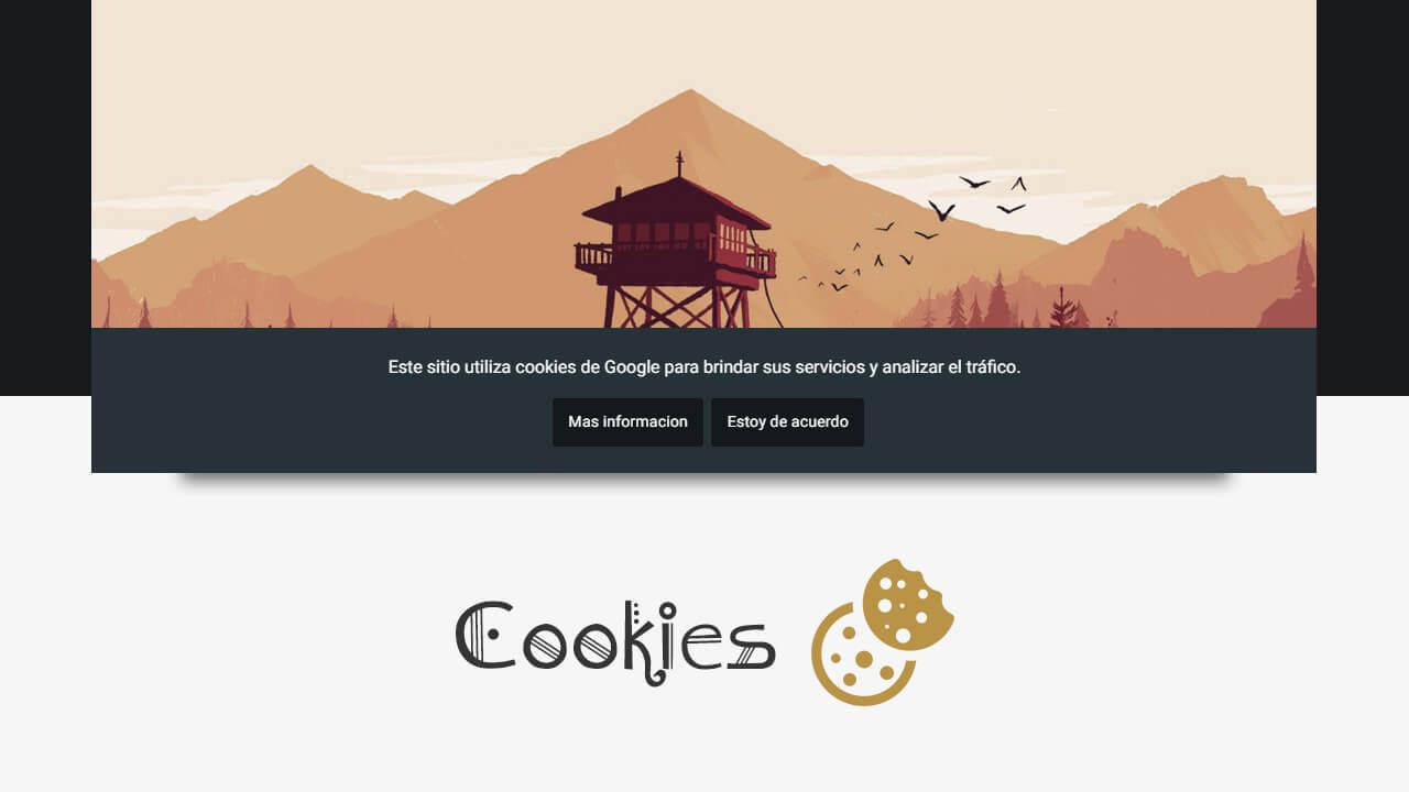 Personalizar el aviso de cookies de Blogger fácilmente