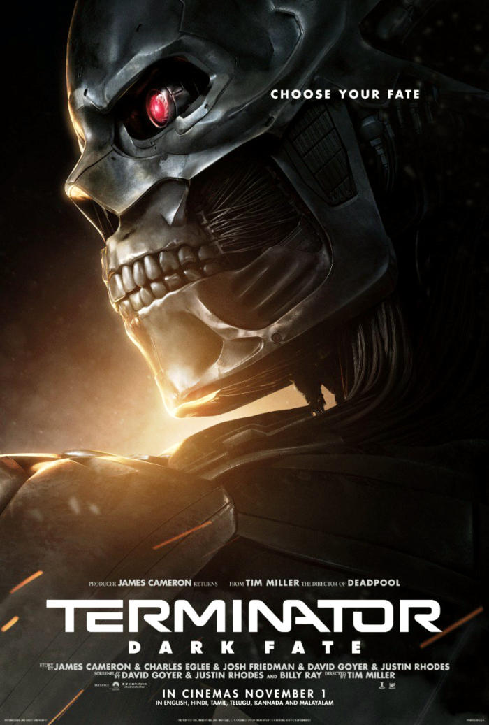 Terminator : Dark Fate New Posters Launched