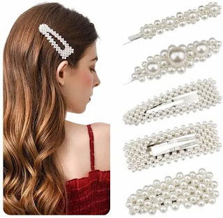 Hair pin, Pearl Hair Slider