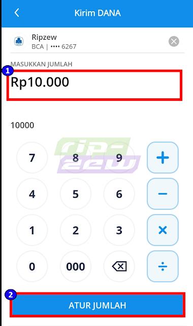 Mengatur Jumlah Nominal Transaksi