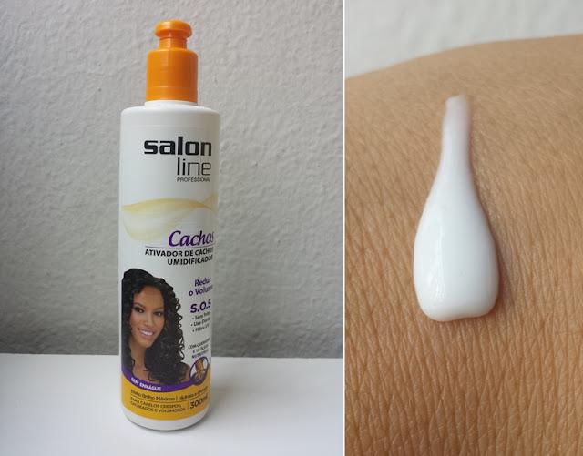 Ativador de Cachos SOS Salon Line