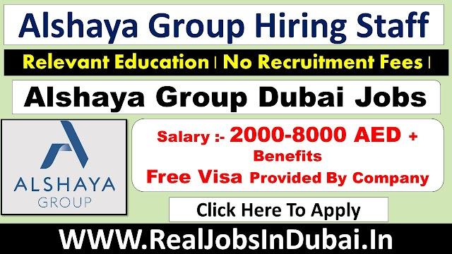 Alshaya Group Careers Jobs Vacancies In Dubai UAE 2021