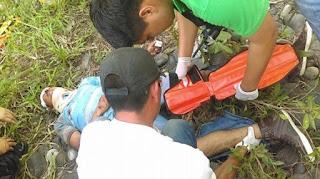 """""""levantan"""" a joven lo golpean y abandonan en Apazapan Veracruz"""