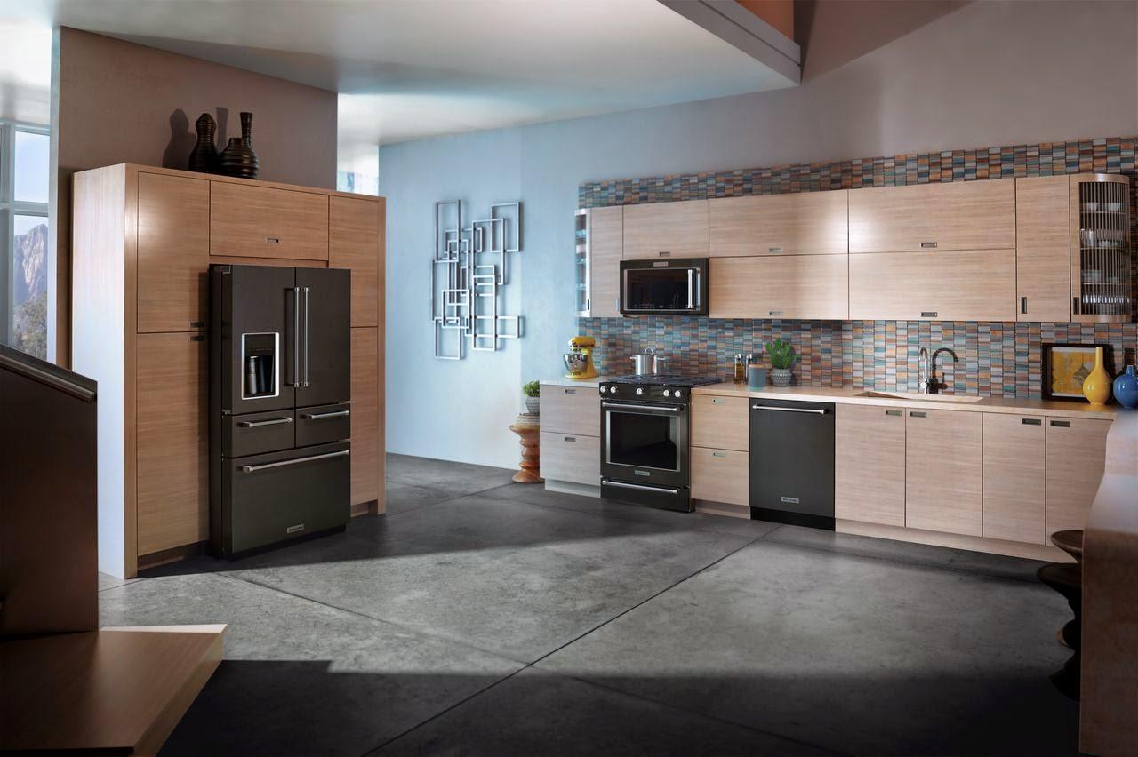 Black Stainless Steel Kitchen Design Tool Free Kitchenaid Appliances