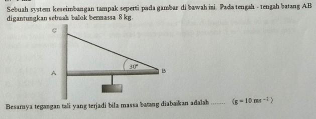 Soal fisika USBN Nomor 8