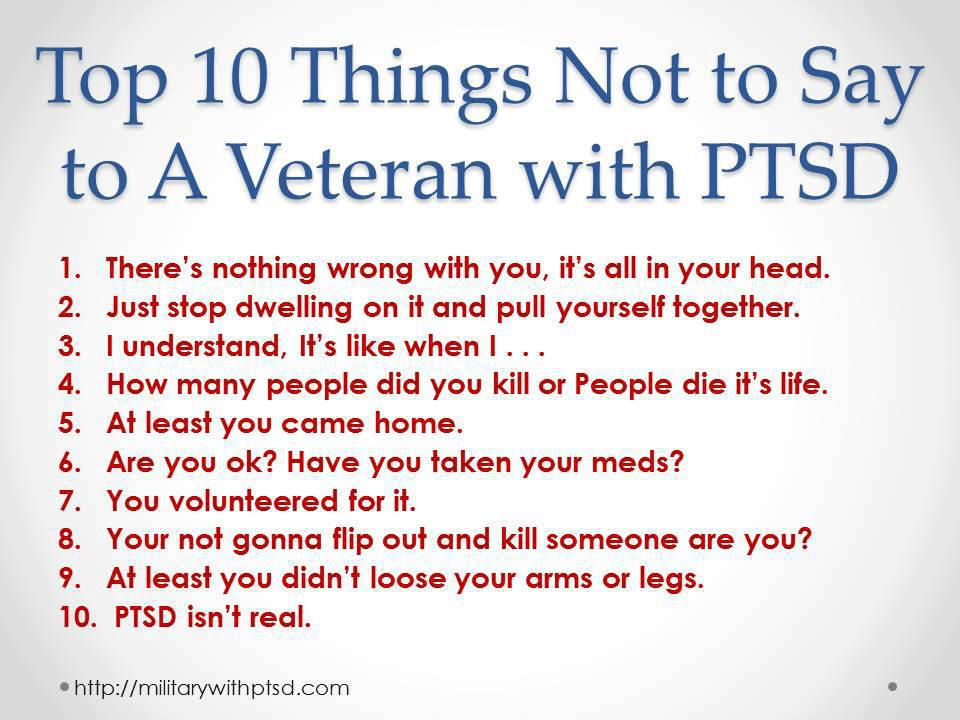 PTSD Quote Of The Day - 03/20/17