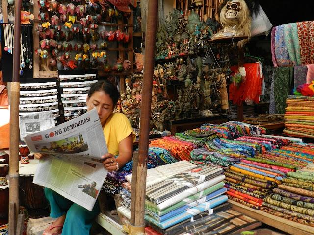 Ubud mercato artigianato tipico
